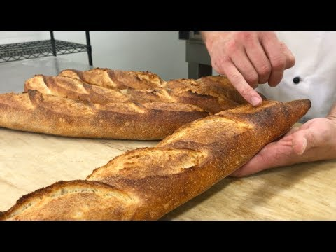 Shaping and Baking Artisan Baguettes