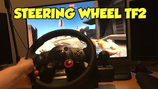 Playing TF2 With a Wheel!
