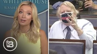 Press Sec. Embarrasses Reporter, Has to Remind Him What the Law Is