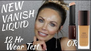 NEW HOURGLASS VANISH LIQUID FOUNDATION. | COMPARING IT TO THE STICK