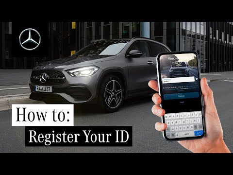 How to Register a Mercedes me ID