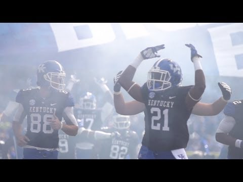 Kentucky Wildcats TV: Kentucky Football Team Pump Up Vid vs. Florida