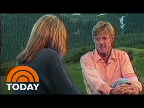 Flashback: Gloria Steinem's 1986 Interview With Robert Redford   TODAY