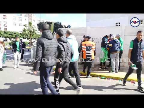 ديربي الوداد والرجاء يستنفر الأمن