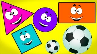 Football Shapes Song | Videos For Children by Kids Channel