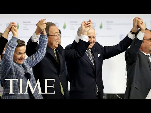 10 Days that Define the Obama Presidency: The Paris Accords   TIME