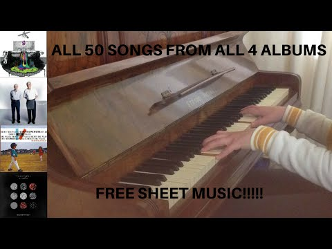 The Ultimate Twenty One Pilots Piano Medley - (50 Songs from 4 Albums) + Free Sheet Music