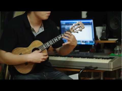 安靜--周杰倫 烏克麗麗演奏曲 Ukulele play by Azin Zheng