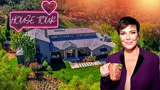 Kris Jenner's House Tour 2020 (Inside and Outside) | $10 Million Home Mansion