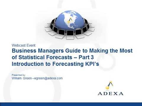 Demand Planning for Managers: Part 3 - Demand Planning KPI's