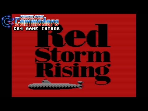 C64 Game Intro: Red Storm Rising (Sid Meier/Microprose,1988)