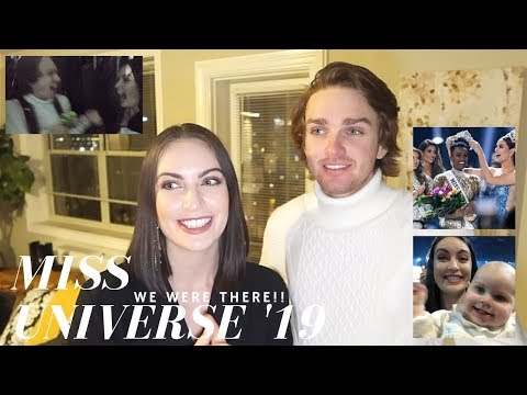 MISS UNIVERSE 2019 REACTION | We were there!!!