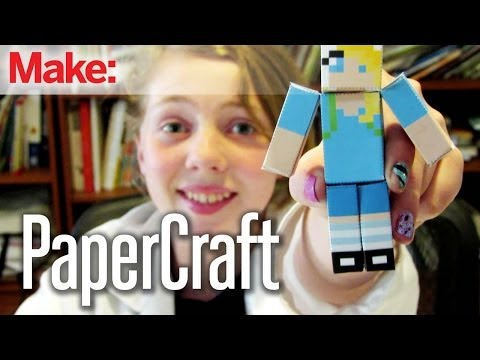 Sylvia's Super Awesome Mini Maker Show: Paper Craft Projects - Smashpipe Style