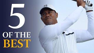 Tiger Woods - Five Of The Best Open Shots