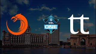 Live English: TNC vs Team Team BO3 | ESL One Mumbai | Lower Bracket Quarter Finals