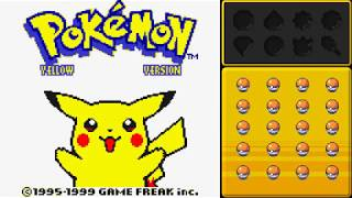 Pokémon Yellow No Evolutions - Pt 01 - Kanto Region!  Meeting Old Friends!
