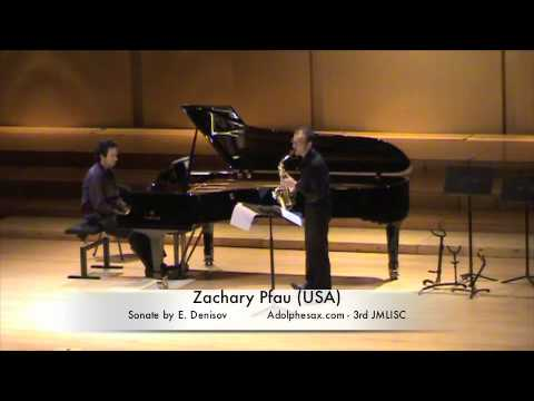 3rd JMLISC Zachary Pfau (USA) Sonate by E. Denisov