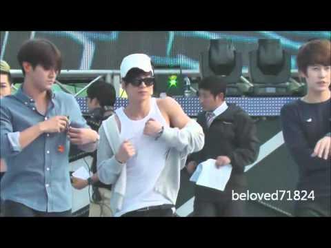 121007 kangnam festival SJ Rehearsal『opera』Leeteuk Siwon Kyuhyun Hyuk