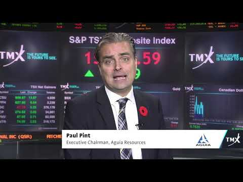 View from the C-Suite: Paul Pint, Executive Chairman, Aguia Resources Ltd., tells his company's story.