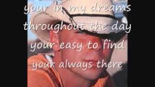 Kenny Chesney - when i close my eyes (lyrics)