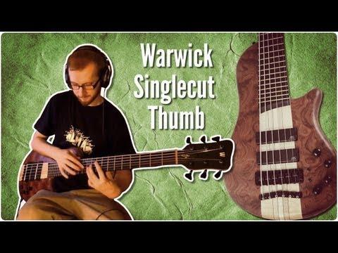 Warwick Thumb Singlecut bass - quick test