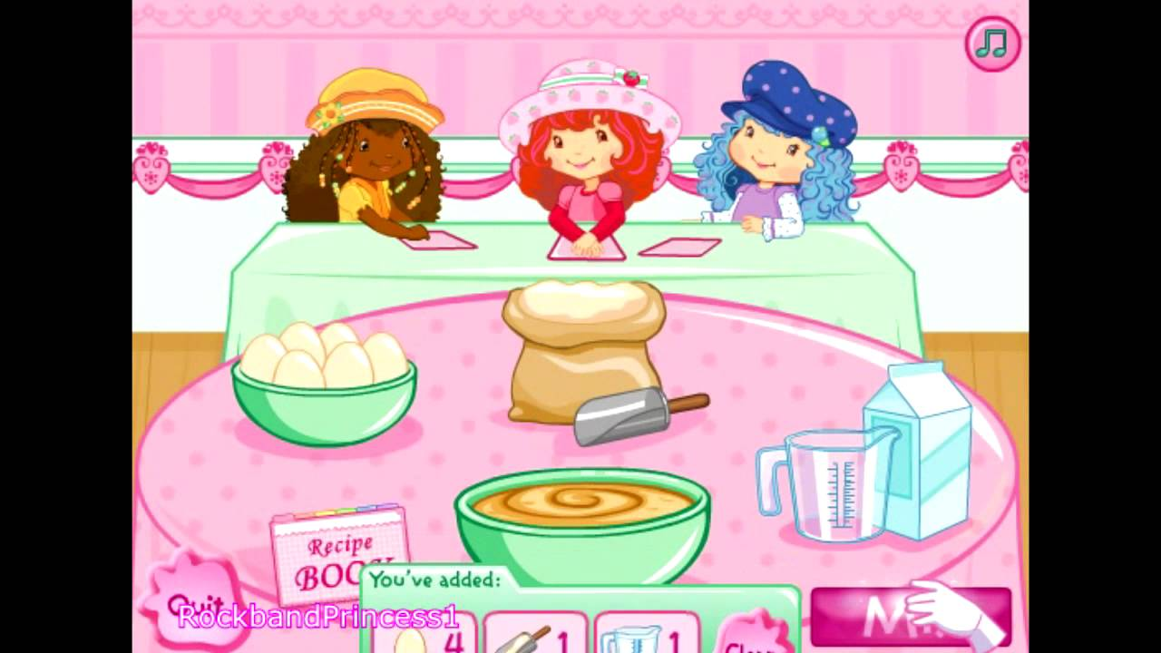 Strawberry Shortcake Games - Berrylicious Bake-Off Game ...