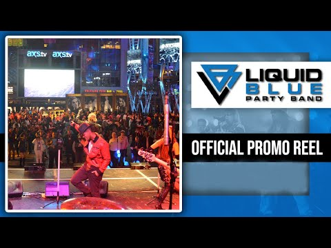 Liquid Blue Party Band Highlights Video