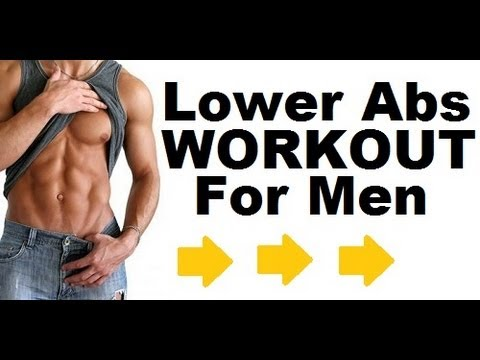 best lower abs workout and exercise for men at home  top