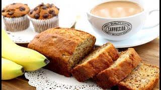 Soft, Moist & Fluffy Banana Cake Recipe