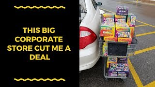 RETAIL ARBITRAGE For Amazon FBA: THIS CORPORATE GROCERY STORE CUT ME A DEAL