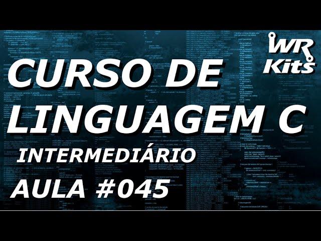 ARQUIVOS (INTRODUÇÃO) | Linguagem C #045