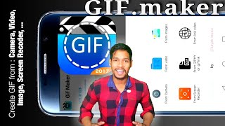 GIF Maker  - GIF any photos create GIF file easily/Aaura Technical