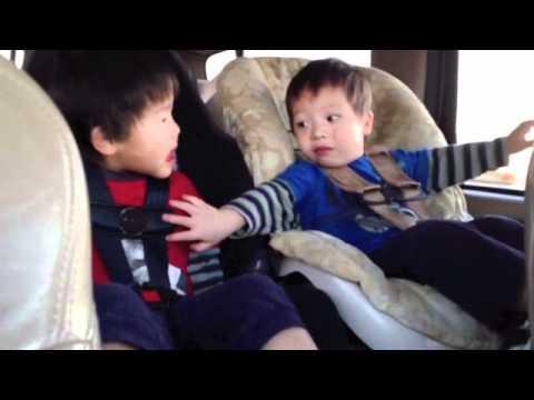 Срцезатоплувачко видео: Две мали братчиња си муабетат во колата на нивните нови родители