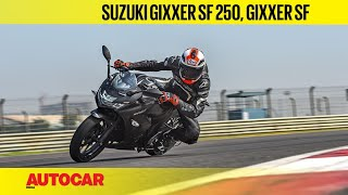 2019 Suzuki Gixxer SF 250 & Gixxer SF | First Ride Review | Autocar India