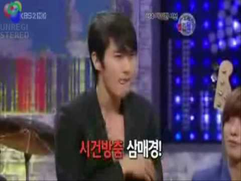 Oh! Siwon Oppa is . . .