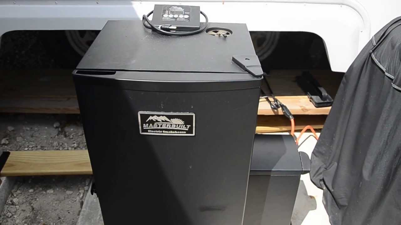 Masterbuilt Electric Cold Smoker Youtube