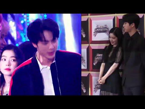 Jinrene moment. you can't denied, Jinrene is real. Jin BTS X Irene Red Velvet