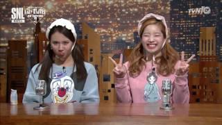 [Vietsub][161029] Vở kịch phóng sự trào phúng (SNL Korea) - TWICE (Jeongyeon, Chaeyoung, Dahyun)
