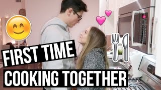 First Time Cooking Together!