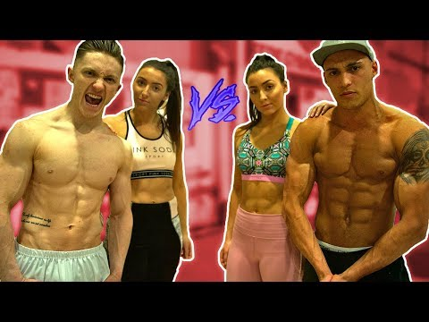 Ultimate Gymnastics Challenge COUPLES EDITION w/ Girlfriends!?
