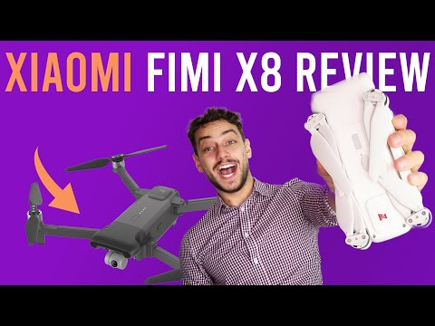 video Xiaomi Fimi X8 complete review (video samples, photo and specs)