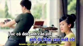 [karaoke] Với anh em là niềm đau - Lâm Chấn Huy - anh dong