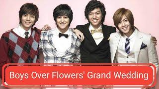 ♥ Boys Over Flowers Grand Wedding ♥