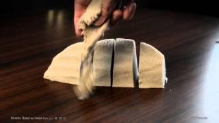 Amazing Kinetic Sand..
