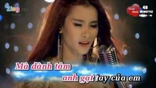 [Karaoke] -  Vết Thương Trong Em - Mi Jun  (Beat - Gốc).