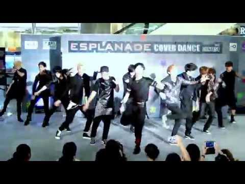 140517 Millenium Boy cover EXO - History + MAMA + Wolf @Esplanade Cover Dance Contest (Audition)