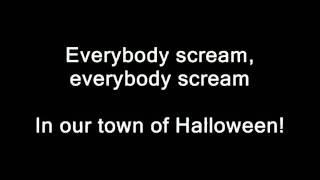 Marilyn Manson - This is Halloween (Lyrics)