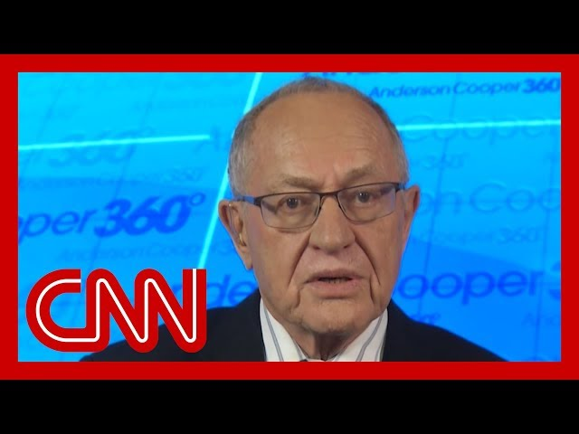 Trump impeachment attorney Alan Dershowitz describes legal strategy