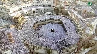 خطبة وصلاة عيد الفطر المبارك من المسجد الحرام لعام 1439     -