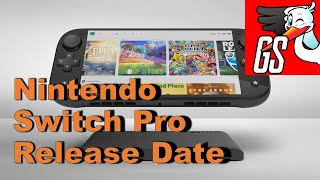 Is this the Nintendo Switch Pro Release Date?